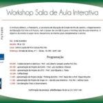 Participei do Wokshop na PUC/Rio_SALA DE AULA INTERATIVA