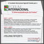Fórum Internacional – Faculdade Signorelli