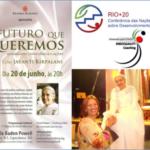Ecologia Pessoal – Sister Jayanti –  Brahma Kumaris – Rio+20