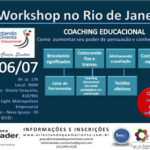 1º Workshop de COACHING EDUCACIONAL no Rio de Janeiro