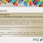 Aula Inaugural: Curso COACHING EDUCACIONAL