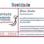 Boas NOVAS: Instituto ORIENTANDO QUEM ORIENTA