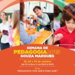 Coach Educacional Graça Santos na Semana de Pedagogia 2015 da Faculdade Souza Marques