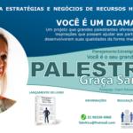 Breve lançamento do 3º livro e palestra com Graça Santos
