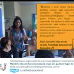 Orientação para organização de eventos pedagógicos inspiradores via SKYPE
