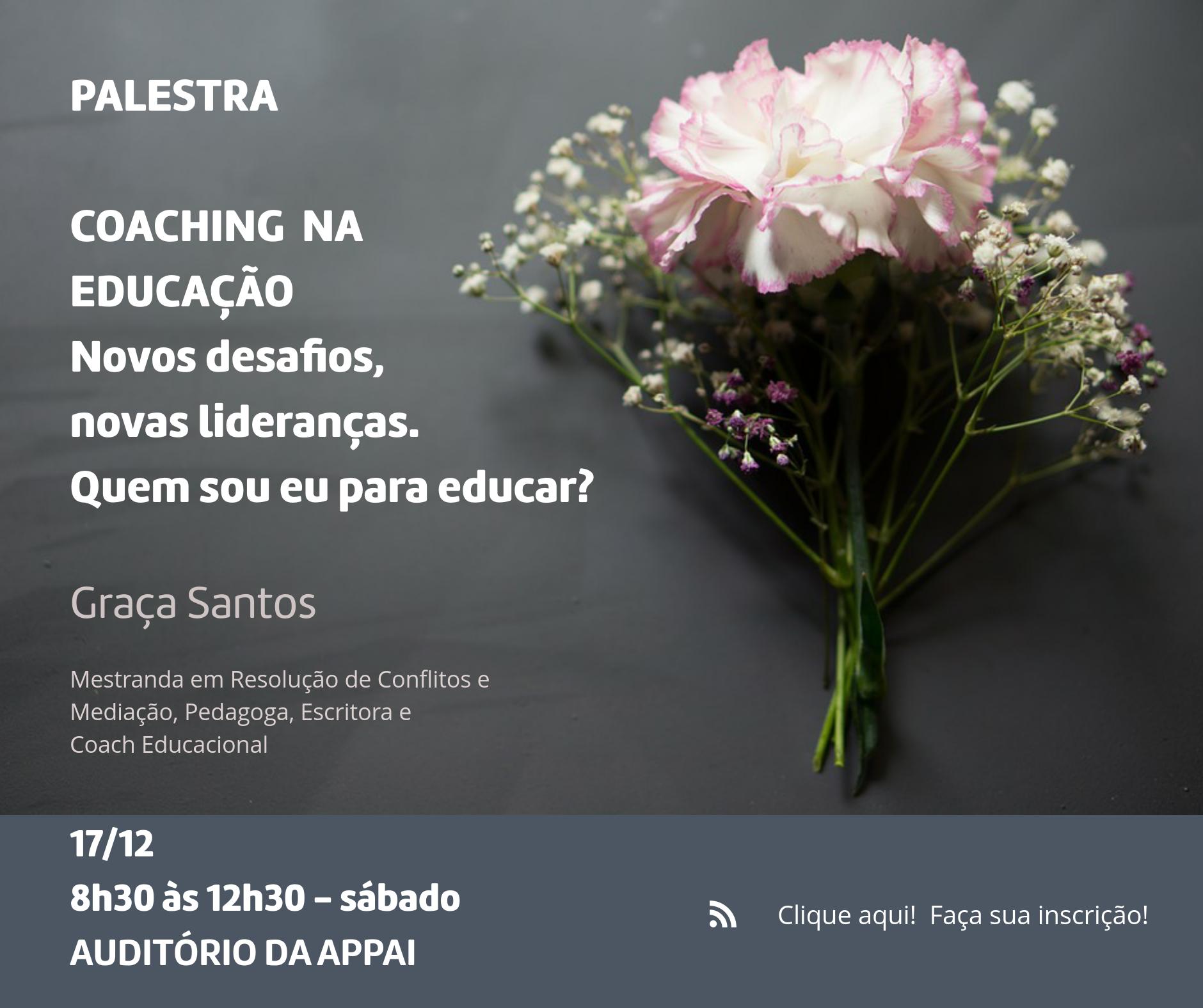 Palestra: Coaching na Educação por meio de poesias