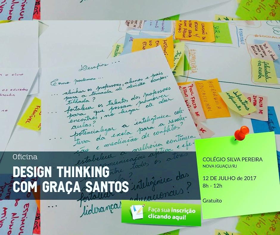 Oficina Design Thinking com Graça Santos