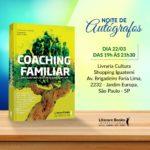 Noite de autógrafos – Lançamento do livro COACHING FAMILIAR