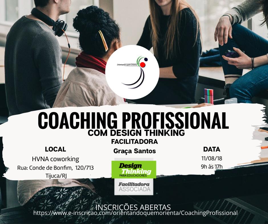 Coaching Profissional com Design Thinking, uma experiência inovadora
