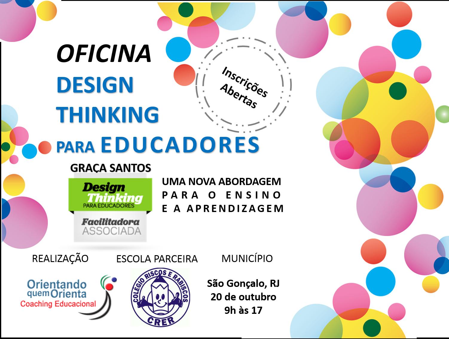 Oficina Design Thinking para Educadores no Rio de Janeiro
